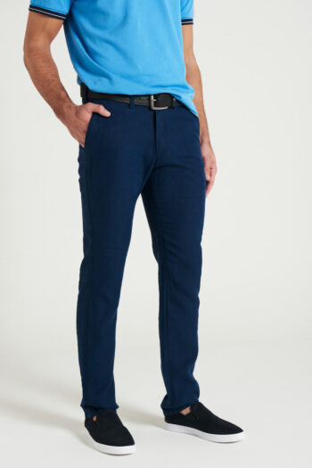 Chino regular fit de lino