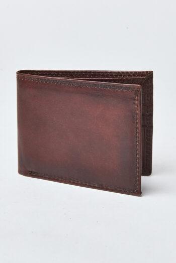 Billetera de cuero con portadocumento