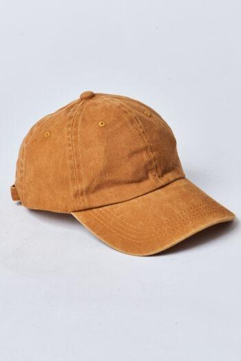 Gorras pigmentado gabardina